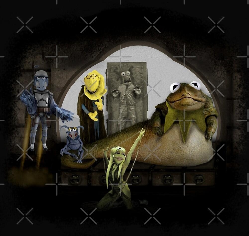 Kermit the Hutt by ScottSherwood