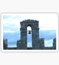 Old Castle Bell Sticker