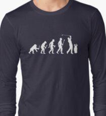 Funny Evolution Of Golf Long Sleeve T-Shirt