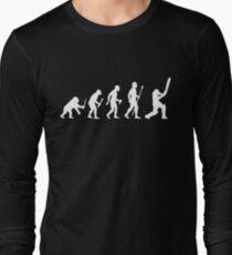 Cricket Evolution Of Man  T-Shirt