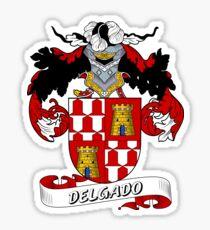 Delgado Sticker