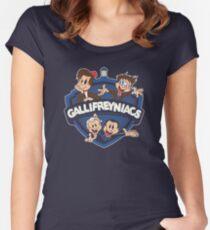 Gallifreyniacs Women's Fitted Scoop T-Shirt