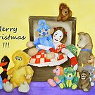 Merry Christmas from Mime & toys by Baina Masquelier