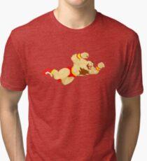 Zangief Minimal  Tri-blend T-Shirt