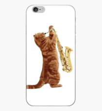 Saxophone Cat - Meowsicians iPhone-Hülle & Cover