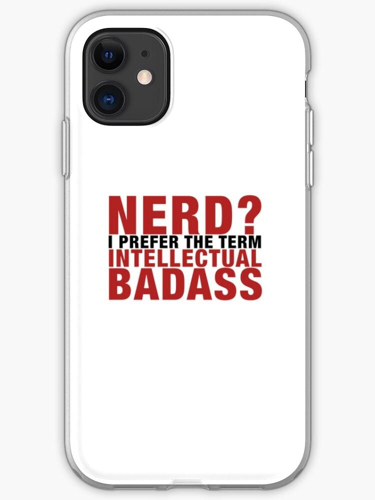 cover iphone 11 nerd