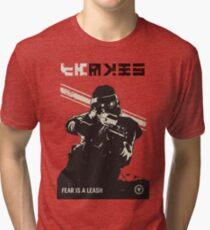 Killzone - Fear Propaganda Poster Tri-blend T-Shirt