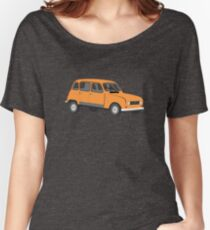 Renault 4 GTL in Orange Women's Relaxed Fit T-Shirt