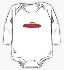 Red Karmann Ghia One Piece - Long Sleeve