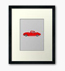 Red Karmann Ghia Framed Print