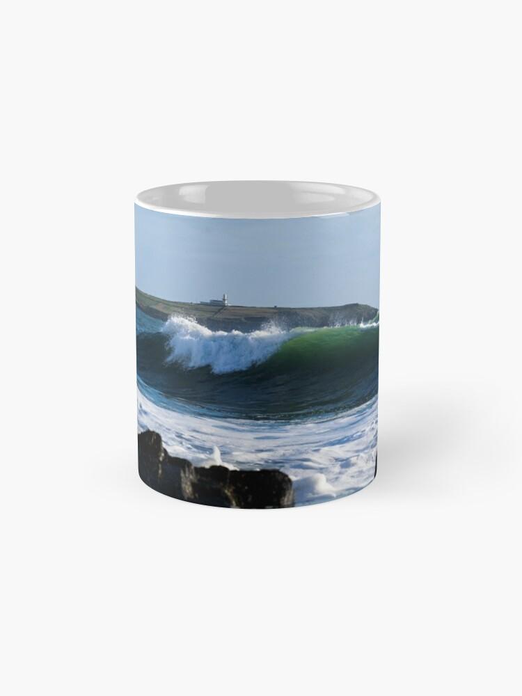 Alternate view of Long Strand West Cork Ireland Mugs