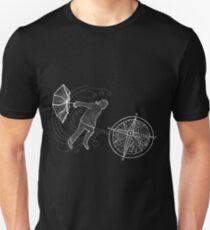 "Frank Turner - ""Facing the next storm"" Black Version Unisex T-Shirt"