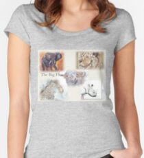 Lodge décor - The Big Five Women's Fitted Scoop T-Shirt