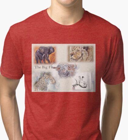 Lodge décor - The Big Five Tri-blend T-Shirt