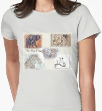 Lodge décor - The Big Five Womens Fitted T-Shirt