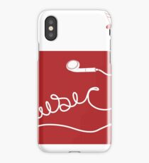 Music Earbuds iPhone Case/Skin