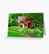 COUNTRY COTTAGE 40D Greeting Card