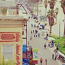 Sunday at Venice Beach - On the Boardwalk by Kasia-D