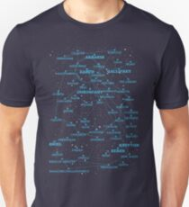 Sci-fi star map Unisex T-Shirt