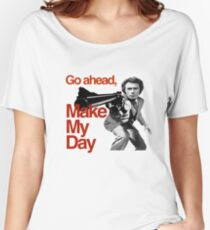 Dirty Harry - Go ahead, make my day! Women's Relaxed Fit T-Shirt