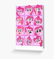 Mirror Pool of Pony - Pinkie Pie Greeting Card