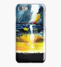 White Streak iPhone Case/Skin