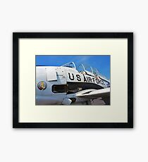 The Downwind T 28 US Air Force Trainer Framed Print