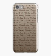 Coffee Coffee Coffee iPhone Case/Skin