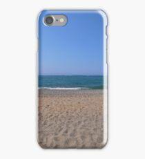 Rethymnon Beach, Crete iPhone Case/Skin