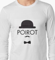 Poirot Long Sleeve T-Shirt
