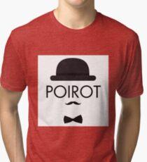 Poirot Tri-blend T-Shirt