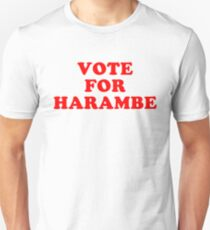 Dicks Out For Harambe - Vote For Harambe T-Shirt