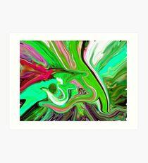 al rehman abstract painting Art Print