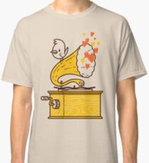 Phonograph and the Bird Classic T-Shirt