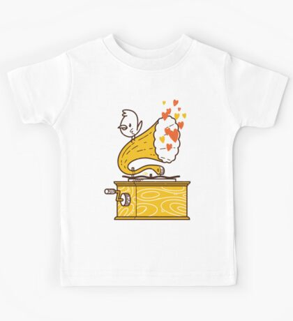 Phonograph and the Bird Kids Clothes