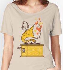 Phonograph and the Bird Women's Relaxed Fit T-Shirt