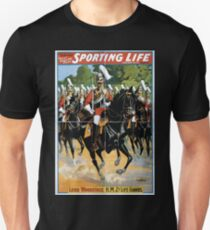 Performing Arts Posters Cecil Raleigh Seymour Hicks great English play Sporting life 1820 T-Shirt