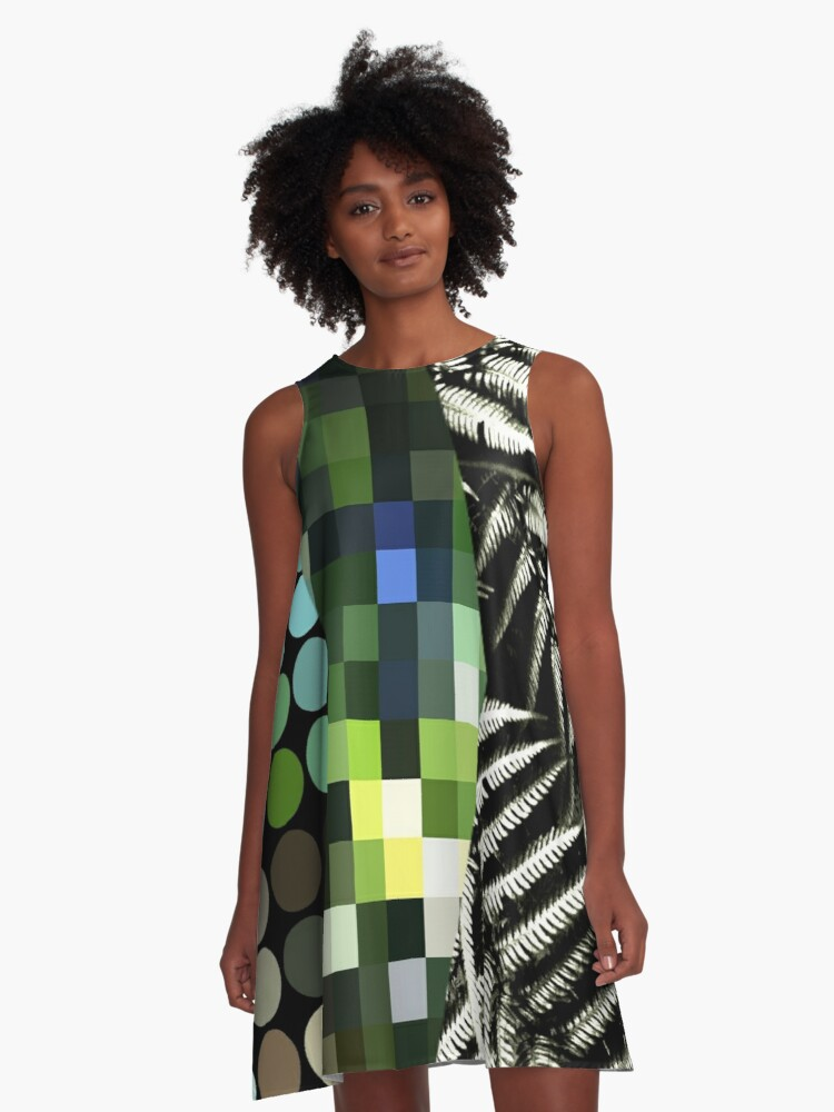 Pop Life A-Line Dress Front