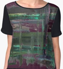 Dreary Day, Take-Two Women's Chiffon Top