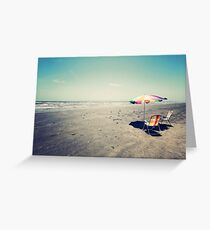 Beach Day Greeting Card