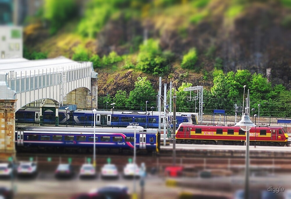 Trainset 1: Scottish Rail by diggle
