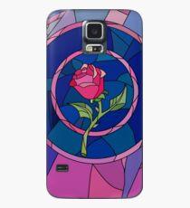 Glass Rose Hülle & Klebefolie für Samsung Galaxy
