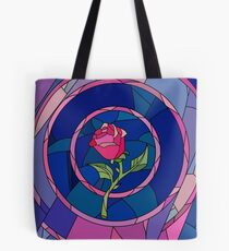 Glass Rose Tote Bag