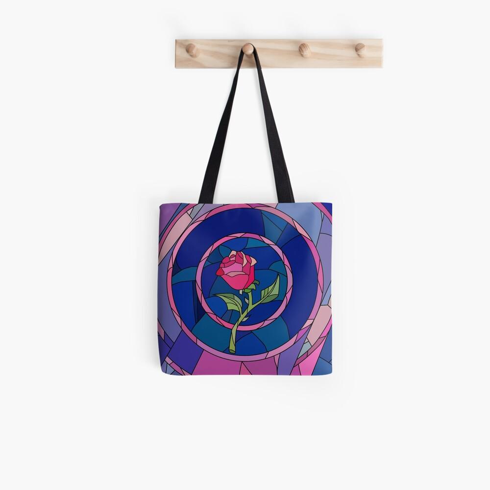 Glass Rose Bolsa de tela