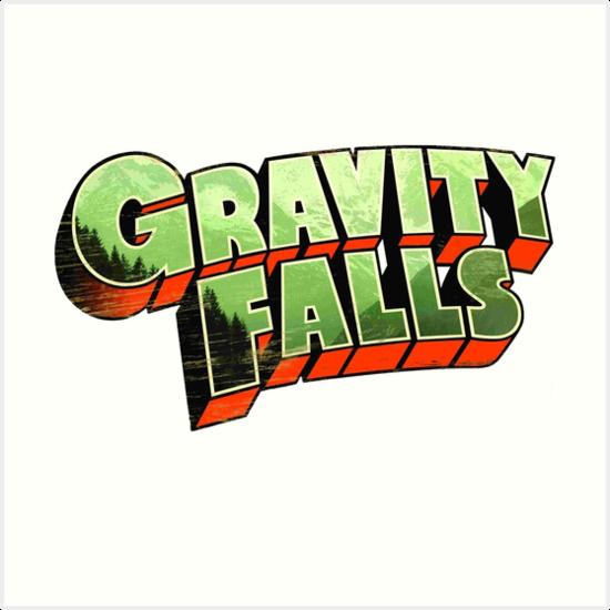 Gravity Falls Logo 1 By Cerebrare