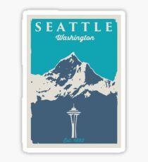 Pegatina Seattle, Washington.