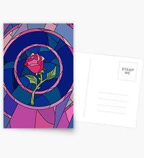 Postales Glass Rose