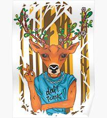 Deer parody daft punk  Poster