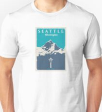 Seattle Washington. T-Shirt