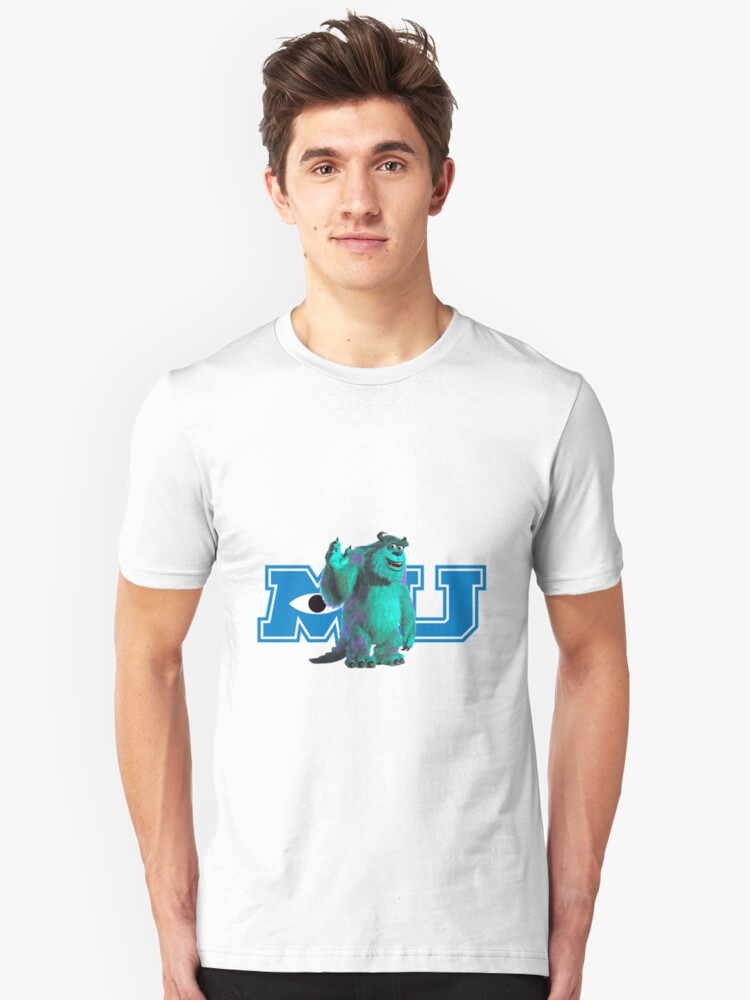 Sully Monsters Inc / University Unisex T-Shirt Front